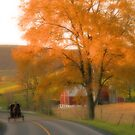 Autumn Buggy Ride by Mike Griffiths