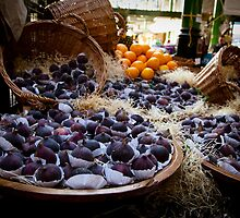 Figs and clementines at the Borough Market by ClaudineCook