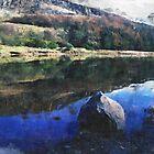 Dovestone Reservoir Spring Reflections by Welshpixels
