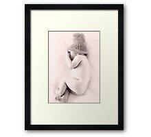 ... and I in My Cap    Framed Print