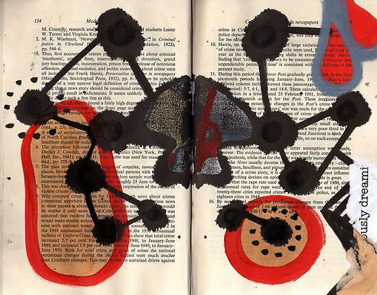 Altered Book 7 by zoe trap