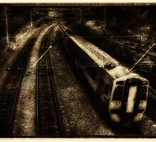The 16:04 from Haymarket Station - Vintage by Den McKervey