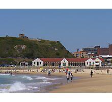 Nobbys Beach, Newcastle Photographic Print