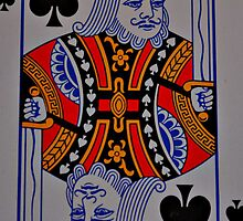 King of Spades (iPhone Case) by Sheryl Gerhard