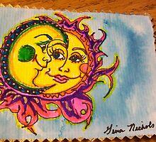 Moon and Sun. by GinaNichols