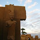 Karnak Temple - Egypt by Marilyn Harris