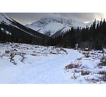Elbow Pass valley XI Photographic Print