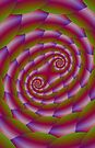 Snake Skin Spiral  by Objowl