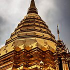 Wat Phrathat Doi Suthep - Chang Mai, Thailand by Cameron Christie