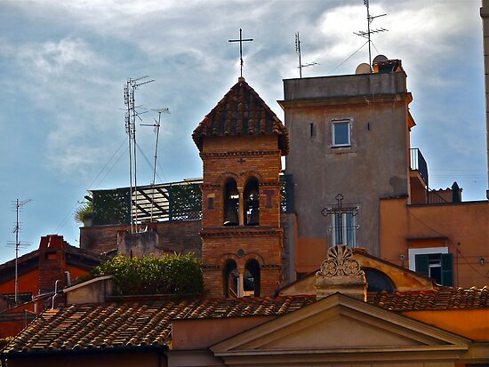 Roman Rooftops by Rae Tucker