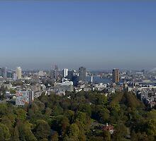 Skyline Rotterdam by Hans Kool