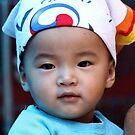 The Tibetan kid. by debjyotinayak