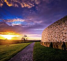 Newgrange by Jill Fisher