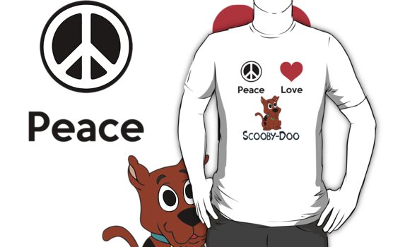 Peace Love & Scooby-Doo  by PopCultFanatics