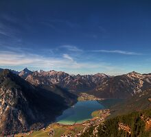 The Achensee below by Stefan Trenker