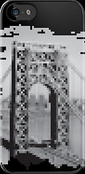 Pixel Bridge by tastypaper