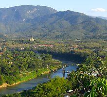 Luang Prabang Nam Khan River by JustLikeKat