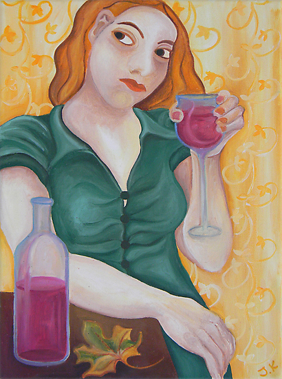 Red Wine  by Julia Keil