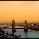 Sunset Over Tower Bridge by Jenn Louise