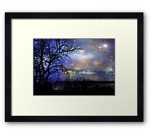 Night Fall © Framed Print