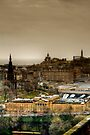 Edinburgh from the Argyle Battery by Christine Smith