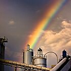 industrial rainbow by Jeff Stubblefield