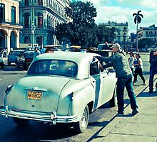 Streets Of Havana #2 by David Sundstrom