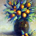 The kumquats in my garden (still life) by Ivana Pinaffo