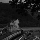 Steam Train Leaving The Station by CheesyGoat