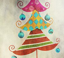 Funky Xmas Tree by Denise Abé
