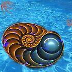 Ammonite (Nautilus) by 4Flexiway