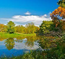 Fall at Killbuck Creek by Mark de Jong