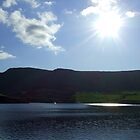 Sunshine Over Dovestones Reservoir by dawnandchris