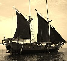 Sailing the Andaman Sea by Laura Berndt