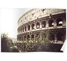 il colosseo -roma-Italy-_quando si parla di grandi monumenti --- Italy --4200 VISUALIZZ.  A GENNAIO 2013- featured italia 500+-RB EXPLORE 22 NOVEMBRE 2011--- Poster