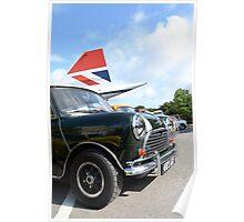 Classic British icons Poster
