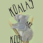 Koalas are Kool 4 iPhones! by aliciaqu