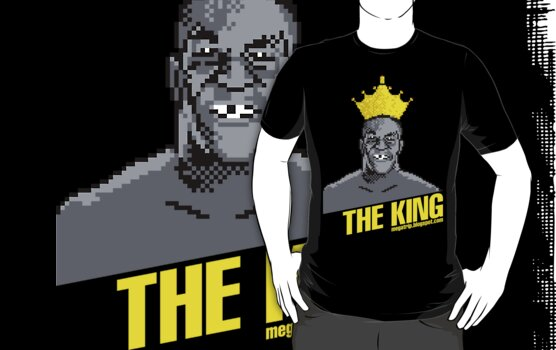 King Megatrip's Punch Out (dark t-shirts) by Megatrip