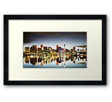 The Luminous City Framed Print