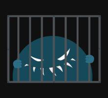 Monster Kingpin Jailed T-Shirt by Boriana Giormova