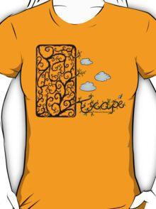 Escape (for light t-shirt colours) T-Shirt