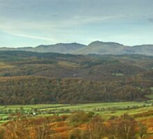 The Rusland Valley..A Panorama by VoluntaryRanger