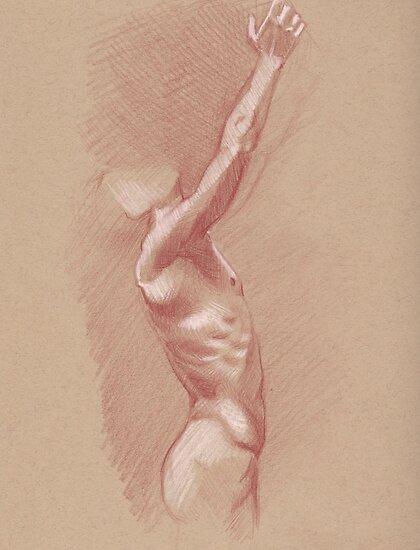 Reaching Male by Dan Johnson
