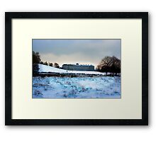 Christmas at Petworth House Framed Print