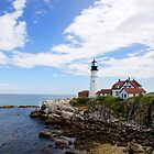 Maine Lighthouse - Cape Elizabeth by mattnnat