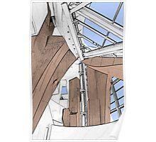 Interior - Walt Disney Concert Hall Poster