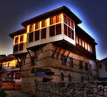 Traditional old house at Kastoria (Makedonia, Greece) by Tania Koleska