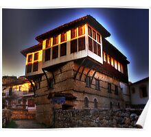Traditional old house at Kastoria (Makedonia, Greece) Poster