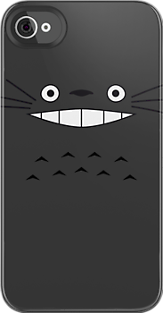 Totoro Face by PyroDraco