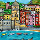 Colours of Vernazza, Cinque Terre by LisaLorenz